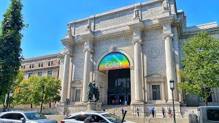 NYC Live Walking Tour - American Museum of Natural History  (September 23, 2020)