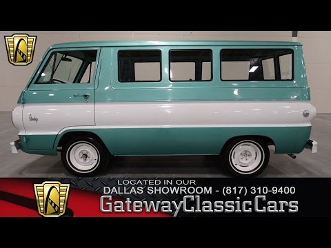 Download 1967 Dodge A100 Van Gateway Classic Cars Dallas #53 HD Mp4 3GP Video and MP3