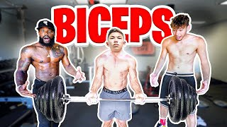 Bicep Curl Strength Challenge with Tristyn Lee & 2Hype!