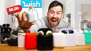 I Bought All The AirPods On Wish..
