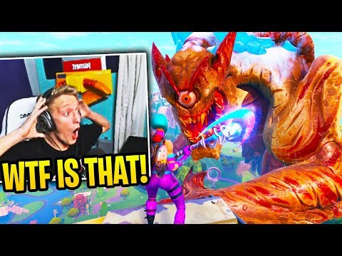 tfue & streamers react to *event*