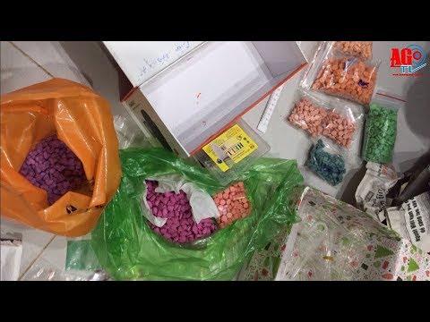Bắt 3 đối tượng, thu giữ trên 2.800 viên ma túy tổng hợp