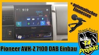 Pioneer AVH-Z 7100 Einbau
