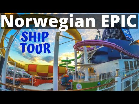 Norwegian Epic Cruise Video Walk Through Tour – Ship Review
