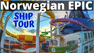Norwegian Epic Cruise Video Walk Through Tour - Ship Review