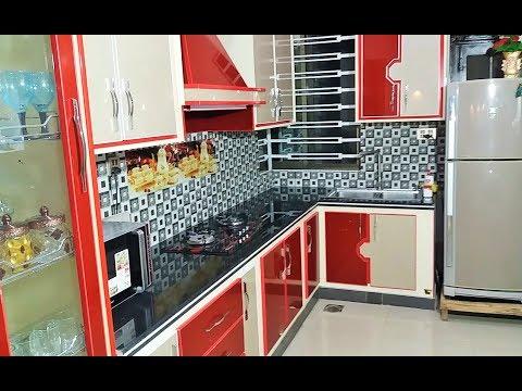 small kitchen design || kitchen interior design(video)