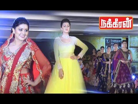 Tamil-Actress-in-Madras-Fashion-Show-Sneha-Nikki-Galrani-Sanchita-Shetty