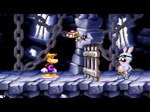 Rayman contre les Lapins Crétins GBA