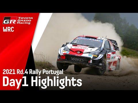 エバンスが2番手ToyotaGazooRacing 第4戦ラリー・ポルトガル Day1ハイライト動画