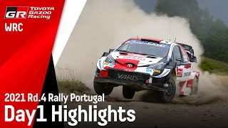 TGR WRT Rally Portugal 2021 Day 1 Highlights