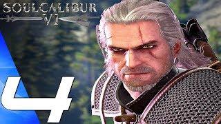 Soul Calibur 6 - Gameplay Walkthrough Part 4 - Taki & Geralt Boss Fight (Full Game) PS4 PRO