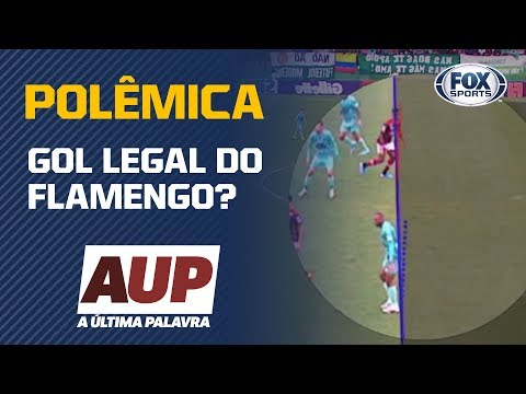 GOL LEGAL DO FLAMENGO? Simon analisa polêmica do jogo contra a Chapecoense