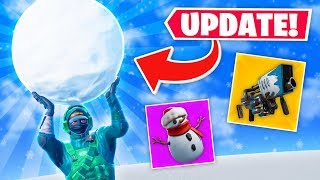 THE CHRISTMAS UPDATE IS HERE!