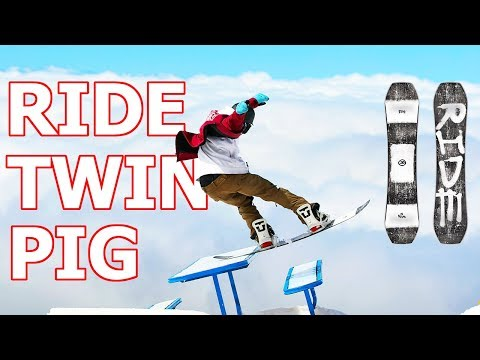 RIDE TWINPIG SNOWBOARD REVIEW
