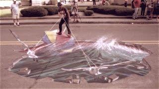 3D Chalk Art Fesitval