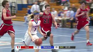 ECC semifinal highlights, Waterford 70, Fitch 43