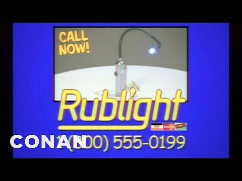 Rublight: The Light You Can Rub On Anything - CONAN on TBS