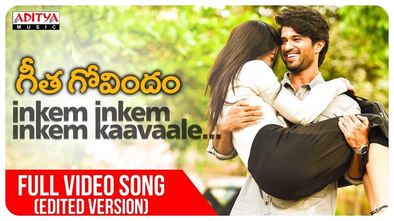 Inkem Inkem Inkem Kaavaale English Lyrics | Geetha Govindam | Vijay Devarakonda, Rashmika