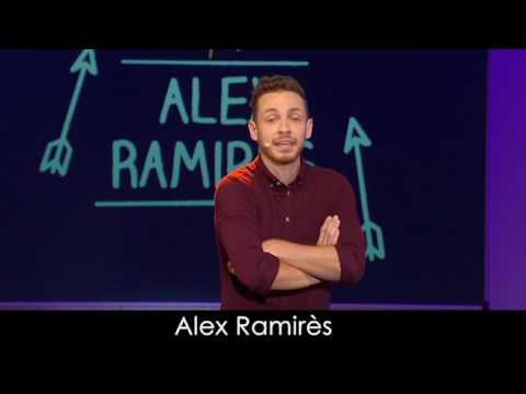 Extrait du spectacle d'Alex Ramires à la Comédie de Paris