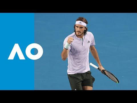 Stefanos Tsitsipas vs Salvatore Caruso | Australian Open 2020 R1