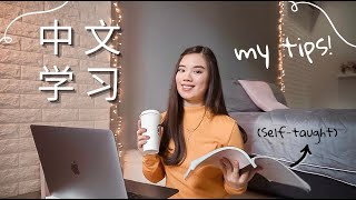 How I Learn Chinese!!   Study tips, note-taking, pronunciation, vocabulary 📚