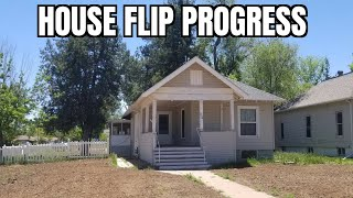 House Flip Progress On A Cool Craftsman Style House Bought 5/26/20