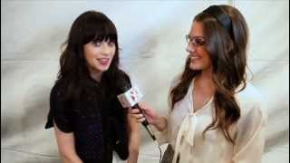 Zooey Deschanel Talks Quirky 'New Girl' Style - Celebrity Interview