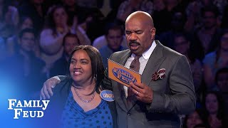 5th Fast Money for the Merriets!   Family Feud