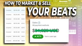 how to market and sell your beats