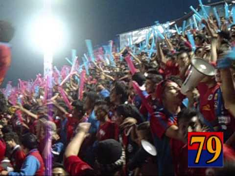 """★PELICULA: Ambiente (FAS-JUVE) T94R"" Barra: Turba Roja • Club: Deportivo FAS"