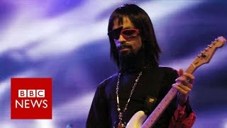 When Prince spoke to the BBC - and didn't say a word - BBC News