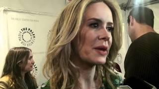 Interview #2 de Sarah Paulson sur AHS - PaleyFest 2012