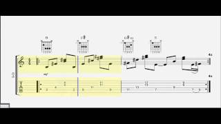 Guitar Tab   Barre Chords   Can't Choose   JRDN   Play Along