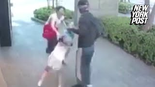 Heroic mom fights off child-snatcher in broad daylight