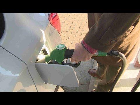 Der Filter fett aktion das Benzin