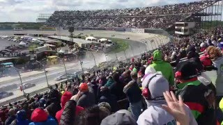 AAA 400 At Dover 5/15/16 (18 Car Wreck)