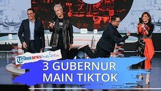 Ditantang Main Tik Tok Ganjar-Emil Langsung Joget, Anies Protes