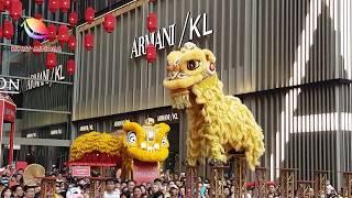 Kun Seng Keng Chinese Lunar New Year Acrobatic Lion Dance at Pavilion KL