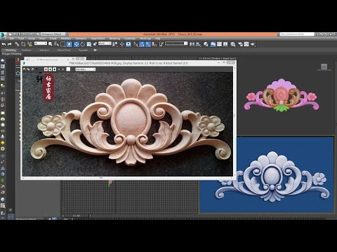 3ds Max – Tutorial – 3D MODEL CLASSIC DECOR