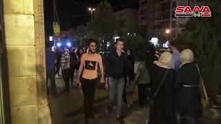 حركة نشطة في أسواق حلب مع اقتراب عيد الفطر