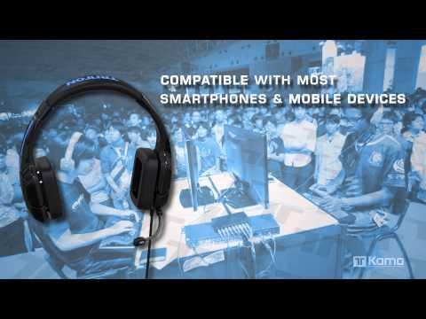 Видео № 0 из игры Наушники с микрофоном Tritton Kama Stereo Headset