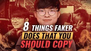 8 Things Faker Does That You Probably Don't - League of Legends Season 10