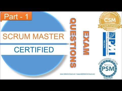 Scrum Master Exam Questions 1 - YouTube