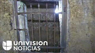 Esta es la prisión donde Jesucristo fue encerrado antes de morir