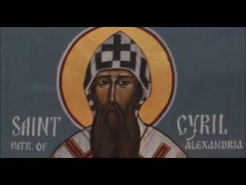Святой Кирилл Александрийский - Толкование отрывка из Евангелия от Иоанна