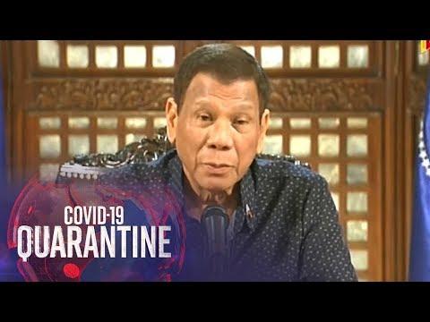 [ABS-CBN]  Giit ng Malacanang: Duterte di minaliit ang banta ng coronavirus | TV Patrol