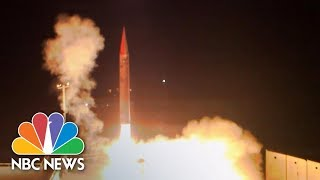 Israel Tests Weapon That Can Shoot Down Ballistic Missiles | NBC News