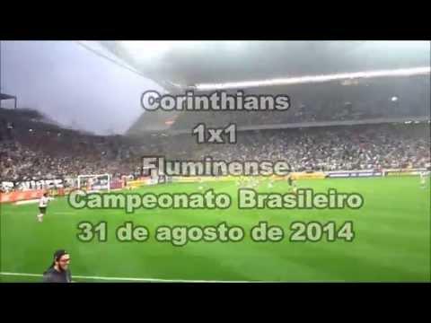 Veja a vibração da Fiel no gol de Romarinho contra o Fluminense