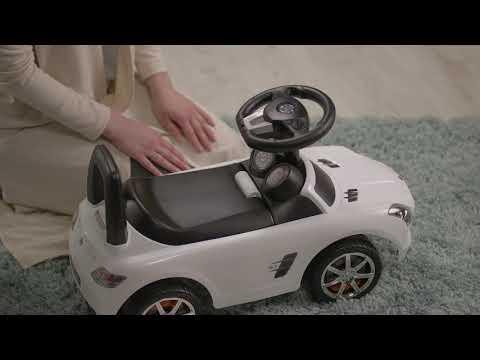 """Машина-каталка """"Mercedes-Benz SLS"""" белый CLB332"""