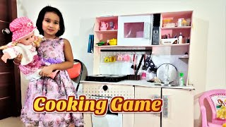 Cooking game in Hindi PART 3| Playing with Kitchen Set in Hindi | Play Fun Cooking Kitchen Games